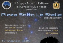 Pizza Sotto Le Stelle (Spring Edition)